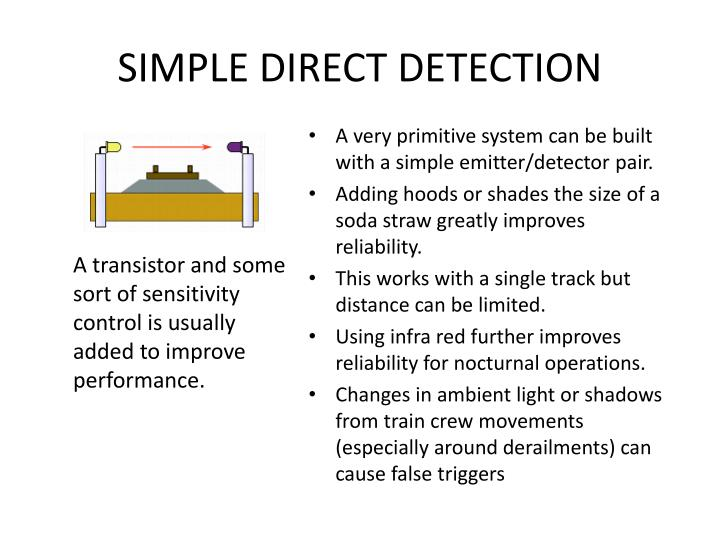 SIMPLE DIRECT DETECTION