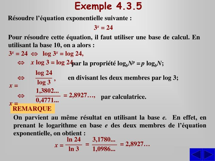 Exemple 4.3.5