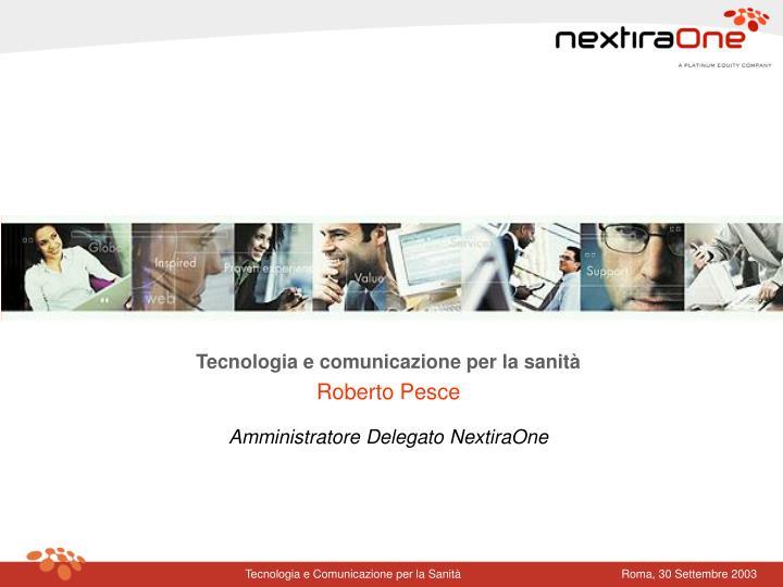 Tecnologia e comunicazione per la sanità