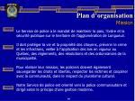 plan d organisation mission