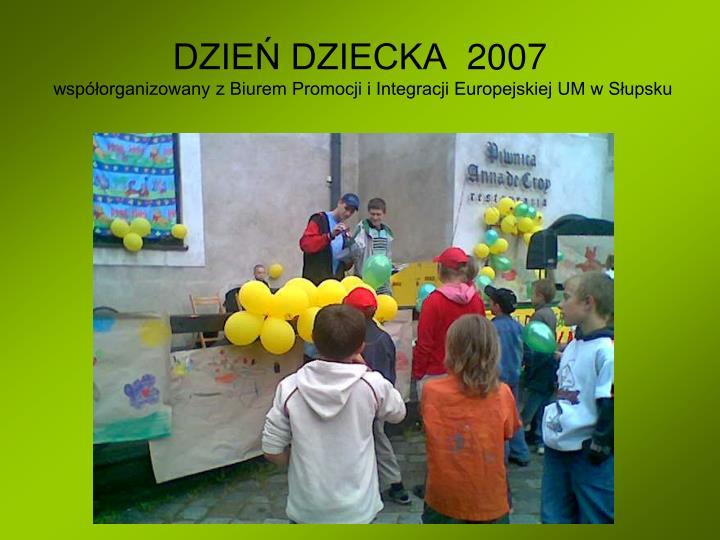 DZIEŃ DZIECKA  2007