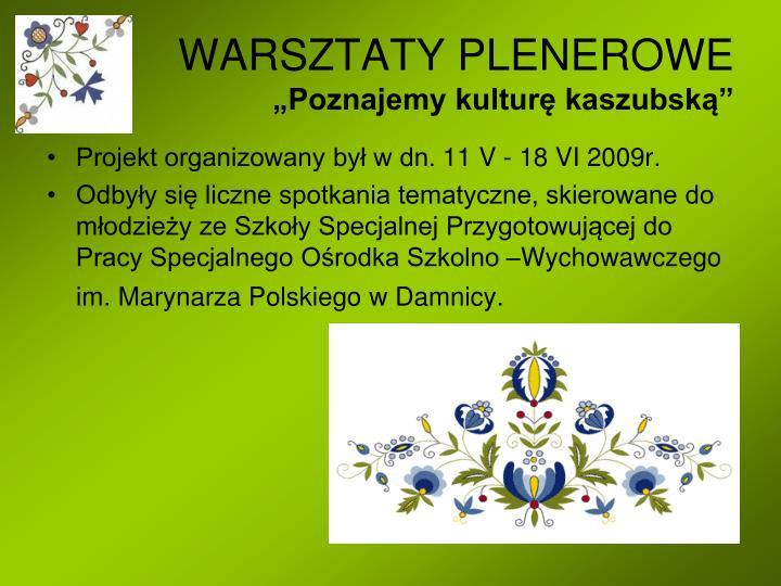 WARSZTATY PLENEROWE