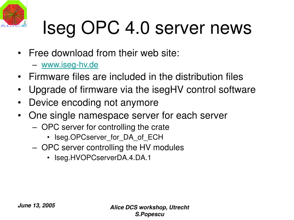 PPT - OPC server PowerPoint Presentation - ID:5216416