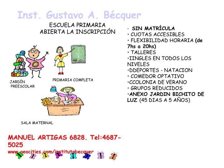 Inst. Gustavo A. Bécquer