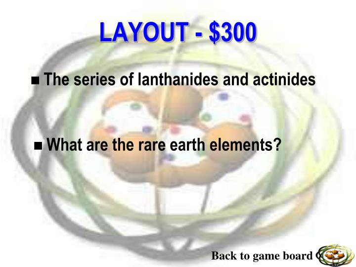 The series of lanthanides and actinides