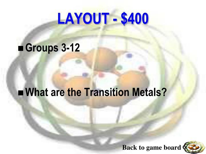Groups 3-12