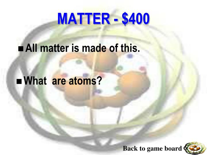 All matter is made of this.