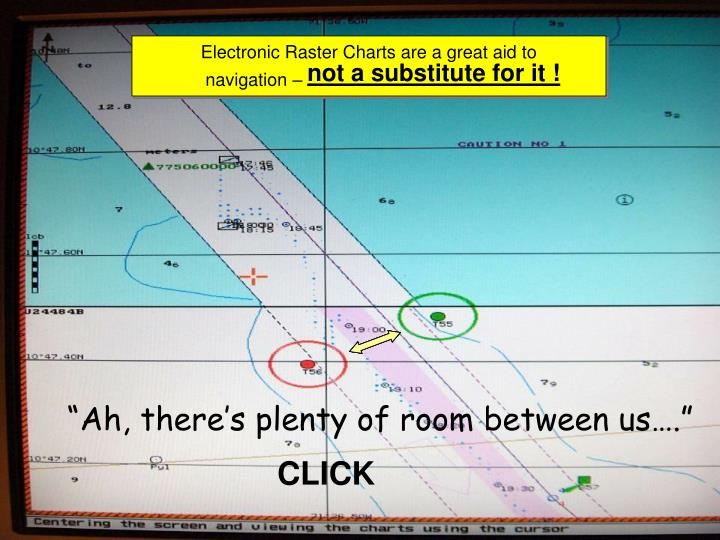 Electronic Raster Charts are a great aid to