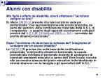 alunni con disabilit