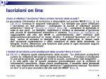 iscrizioni on line1