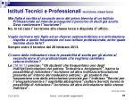 istituti tecnici e professionali iscrizione classi terze1