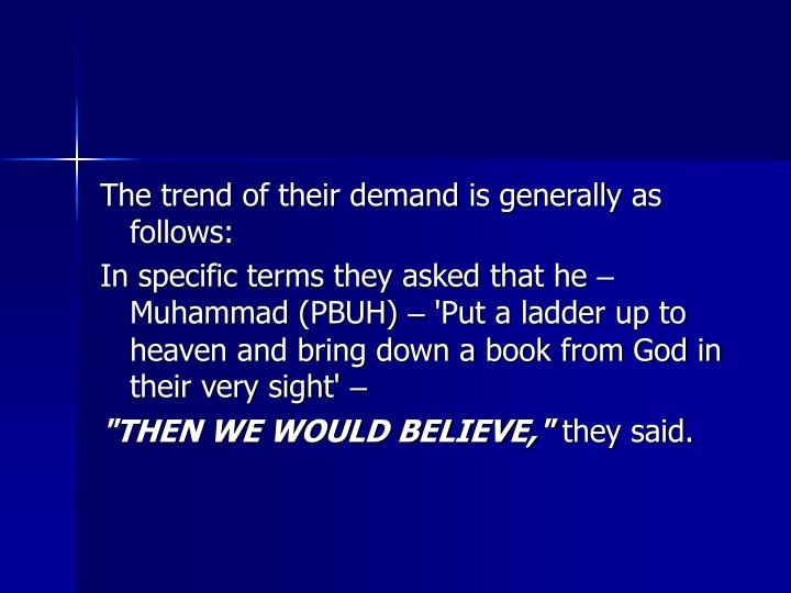 The trend of their demand is generally as follows: