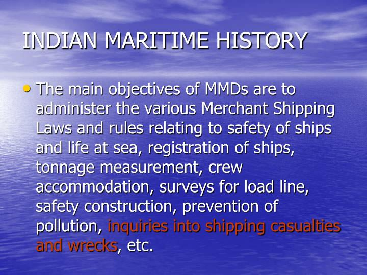 Indian maritime history1