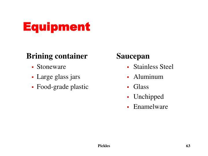 Brining container