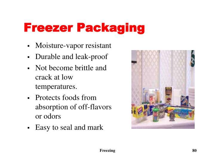 Freezer Packaging