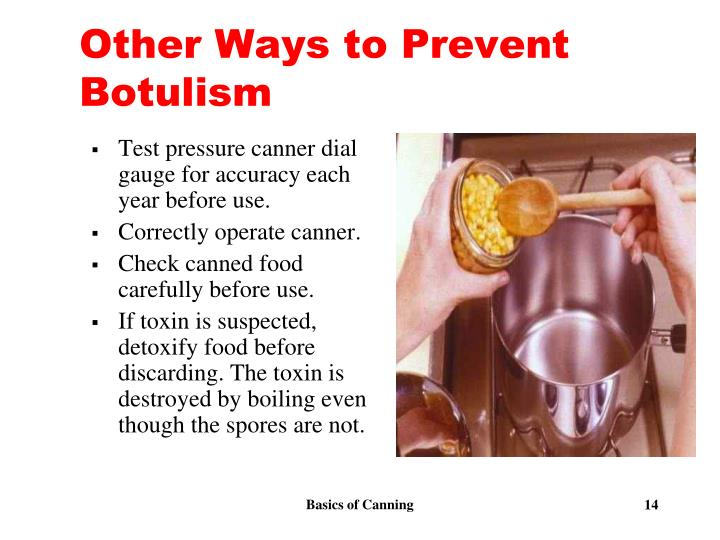 Other Ways to Prevent Botulism