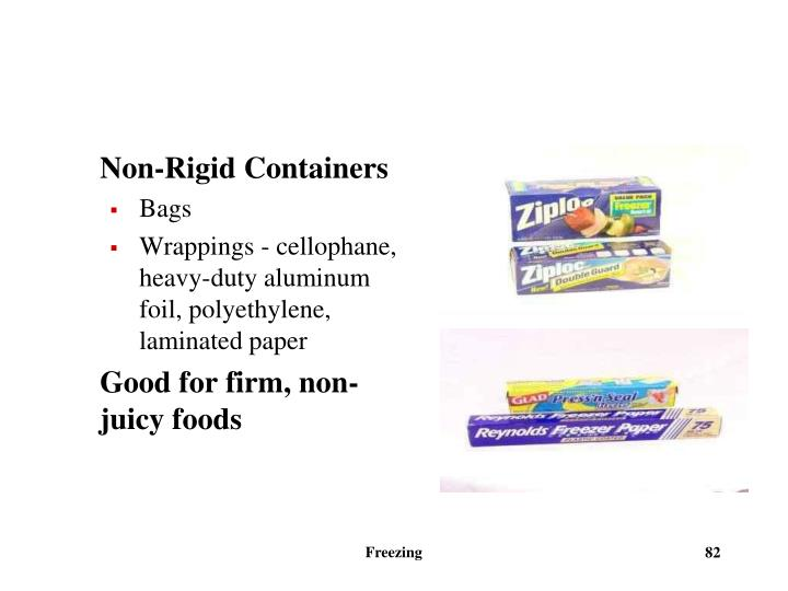 Non-Rigid Containers