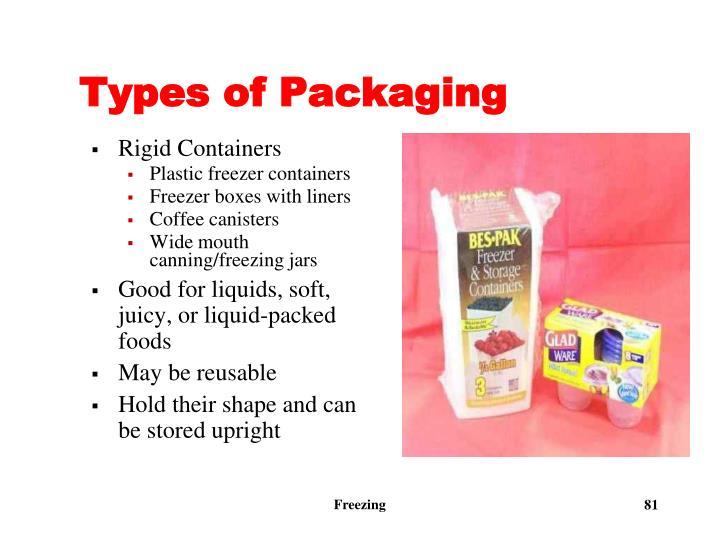 Types of Packaging