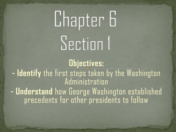 chapter 6 section 1 n.