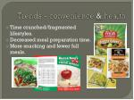 trends convenience health