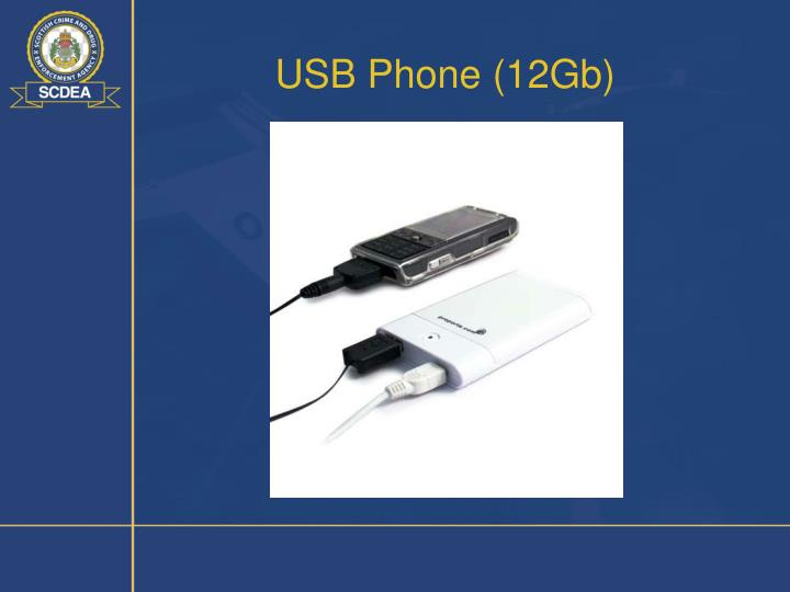 USB Phone (12Gb)