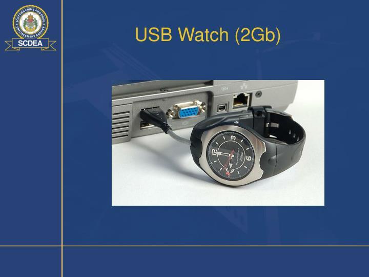 USB Watch (2Gb)