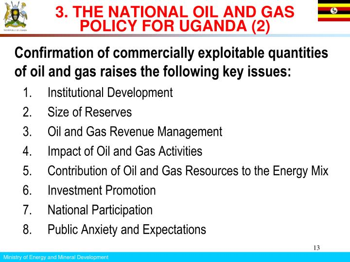 3. THE NATIONAL OIL AND GAS POLICY FOR UGANDA (2)