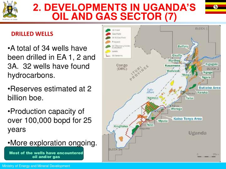 2. DEVELOPMENTS IN UGANDA'S OIL AND GAS SECTOR (7)