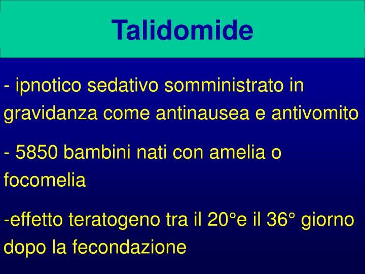 Talidomide