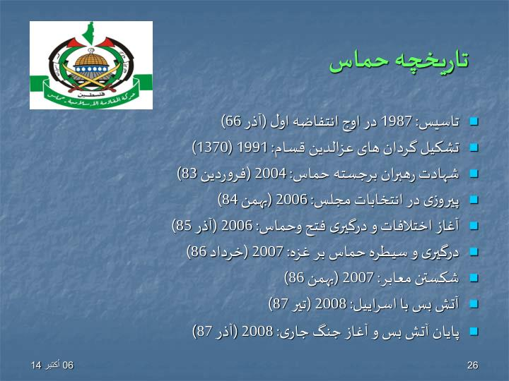 تاریخچه حماس