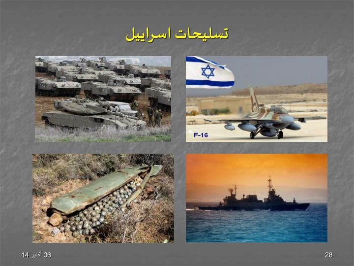 تسلیحات اسراییل
