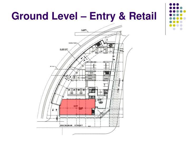 Ground Level – Entry & Retail