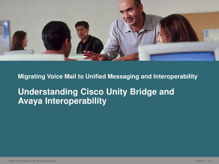 migrating voice mail to unified messaging and interoperability n.
