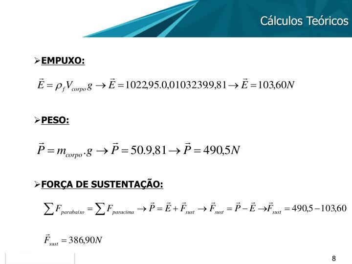 Cálculos Teóricos