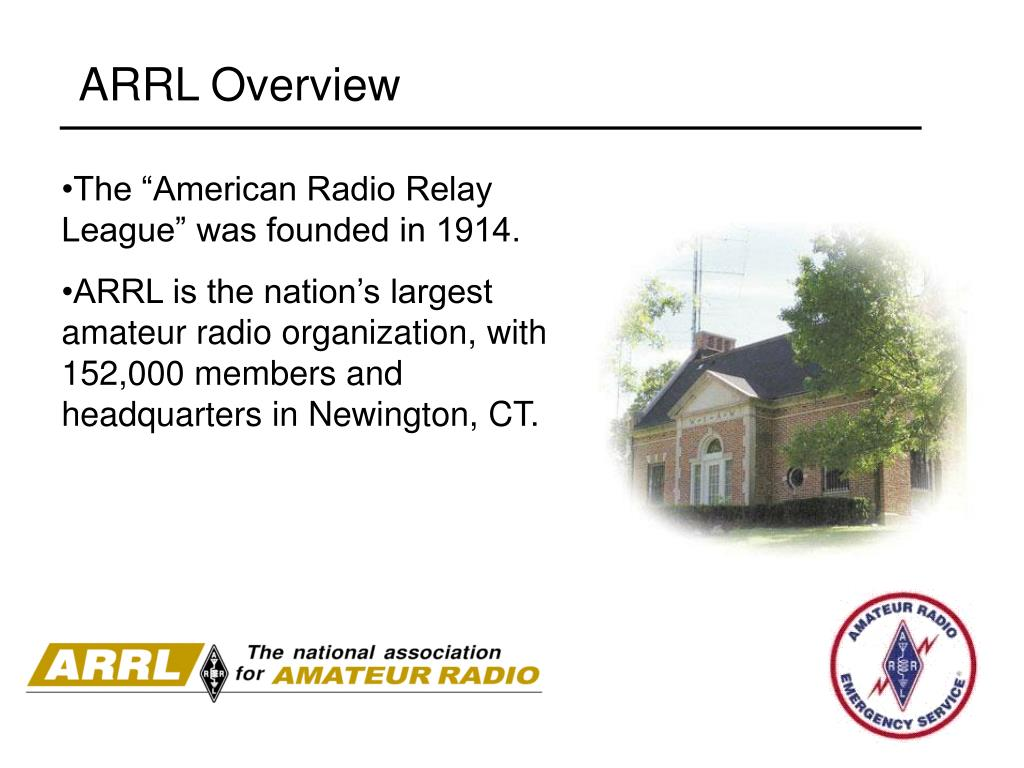 PPT - Introduction to the Amateur Radio Emergency Service