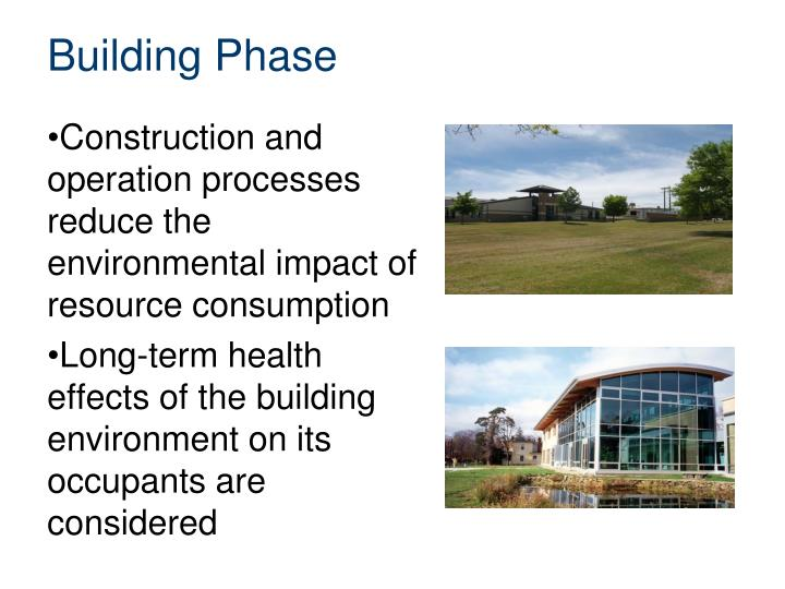 Building Phase
