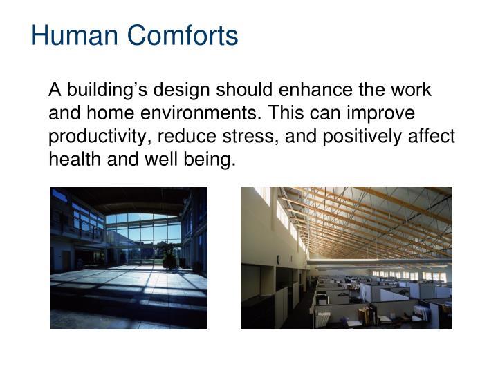 Human Comforts