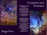 evolution of a protostar