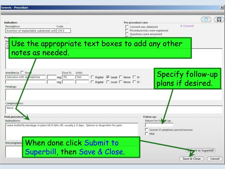 how to change notes on powerpoint to generic