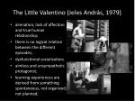 the little valentino jeles andr s 1979