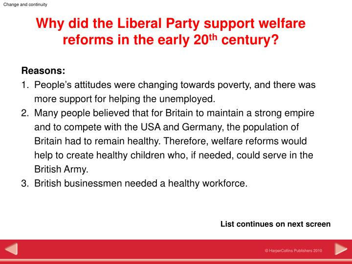 welfare reform in the early republic Welfare reform in the early republic in the beginning of the nineteenth century, the amount of poor americans grew rapidly people contributed to helping the poor because it was in their eyes seen as a moral obligation, a religious duty, or financial responsibility.