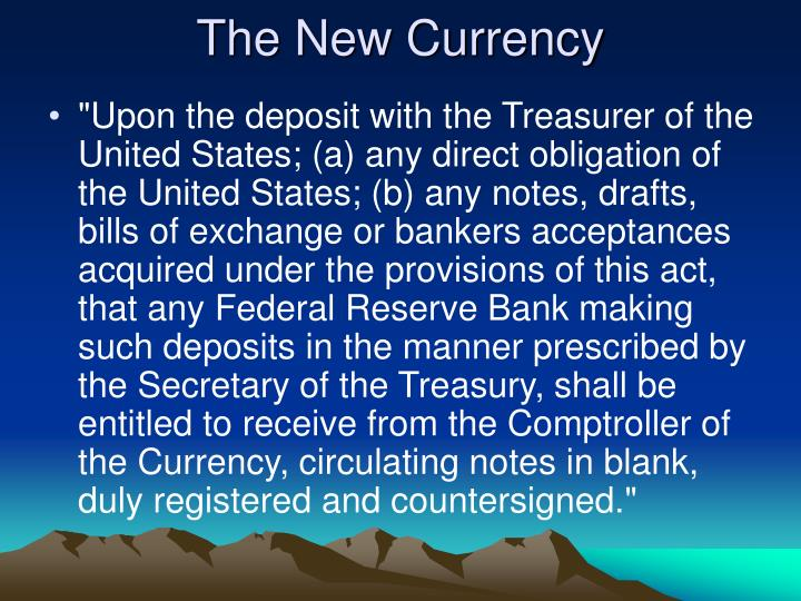 The New Currency