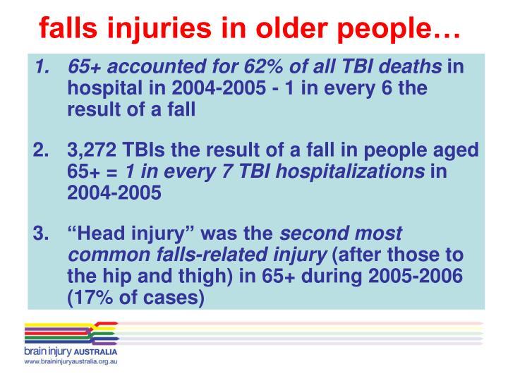falls injuries in older people…