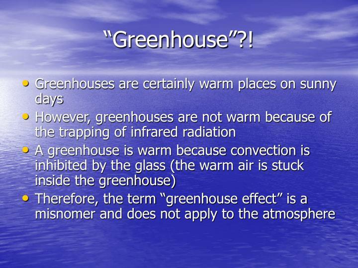 """Greenhouse""?!"