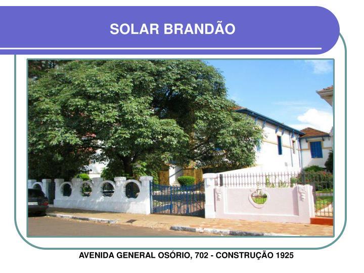 SOLAR BRANDÃO