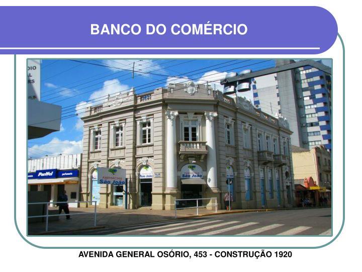 BANCO DO COMÉRCIO