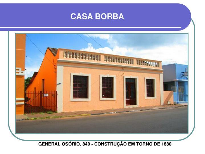 CASA BORBA