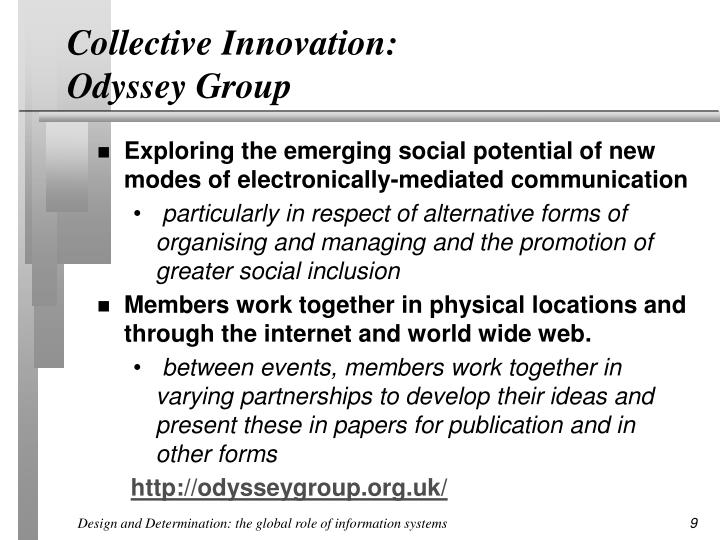 Collective Innovation: