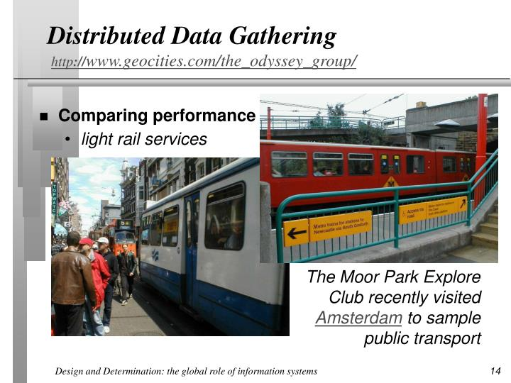 Distributed Data Gathering