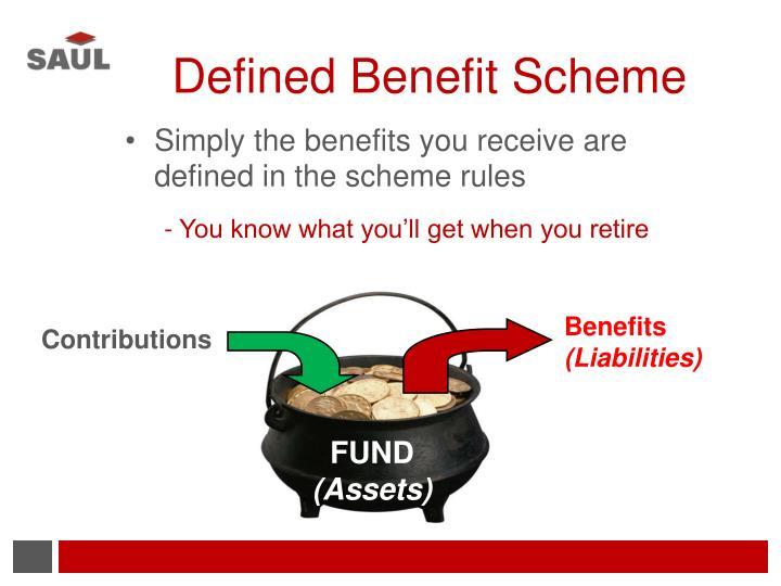 Defined Benefit Scheme